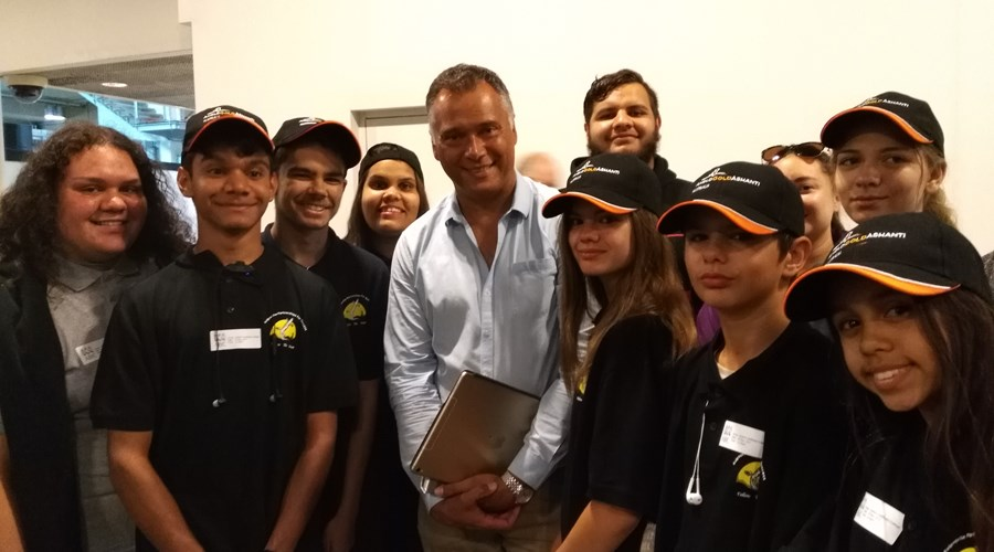 FTD students  with ABC News presenter Stan Grant_.jpg