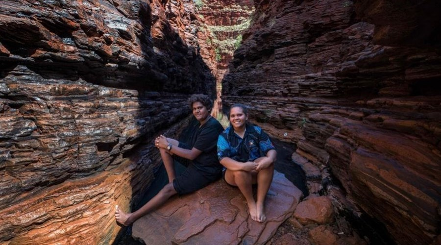 Pic of Rowen and Jasmine in The Australian.JPG